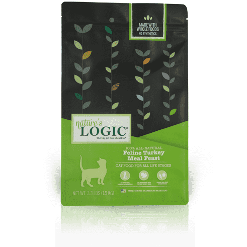 Nature's Logic Cat Food Turkey Feast | Dry Cat Food -  pet-max.myshopify.com