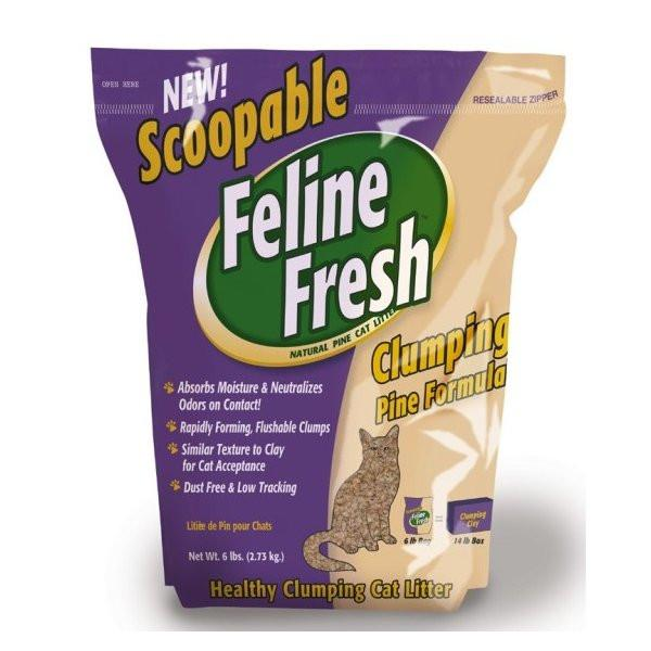 Feline Fresh Scoopable Cat Litter  Cat Litter - PetMax
