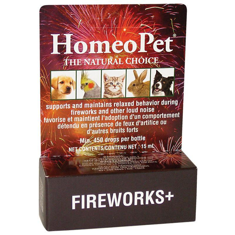 Homeopet TFLN Anxiety Relief Fireworks+  Stress Relief - PetMax