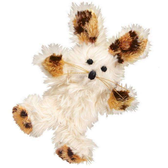 Kong Cat Softies Fuzzy Bunny  Cat Toys - PetMax