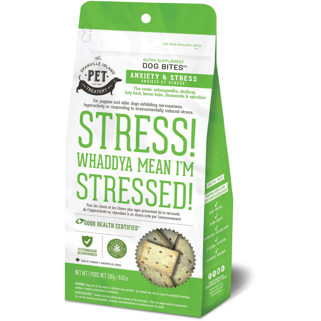 Granville Island Anxiety & Stress Dog Treats  Dog Treats - PetMax
