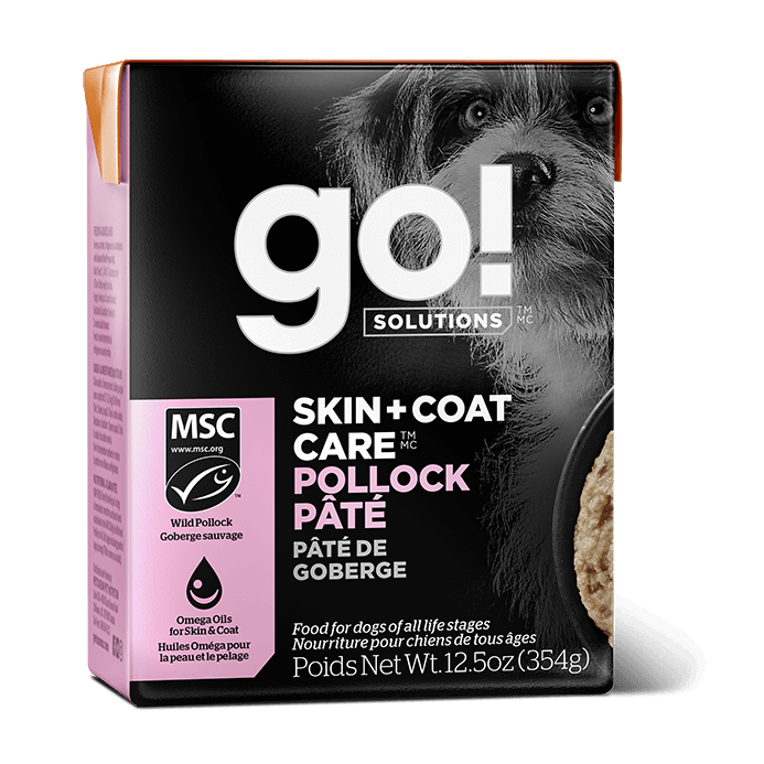 GO! SKIN + COAT CARE Pollock Pâté for dogs  Canned Dog Food - PetMax