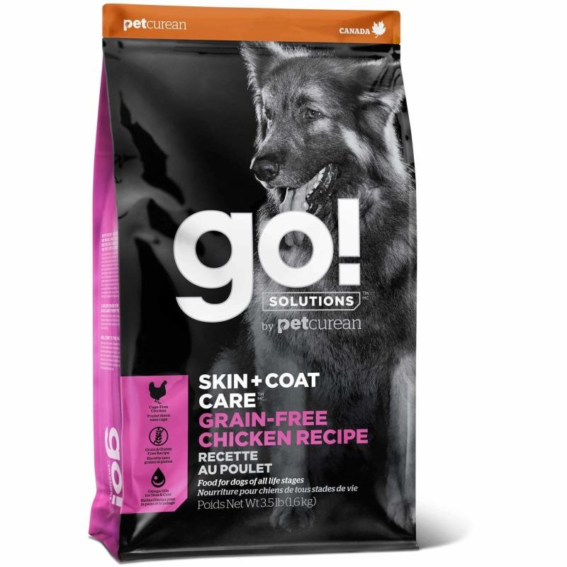 GO! SKIN + COAT CARE Grain Free Chicken Recipe for dogs  Dog Food - PetMax