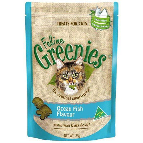 Greenies Feline Ocean Fish Flavour, Cat Treats, Greenies - PetMax