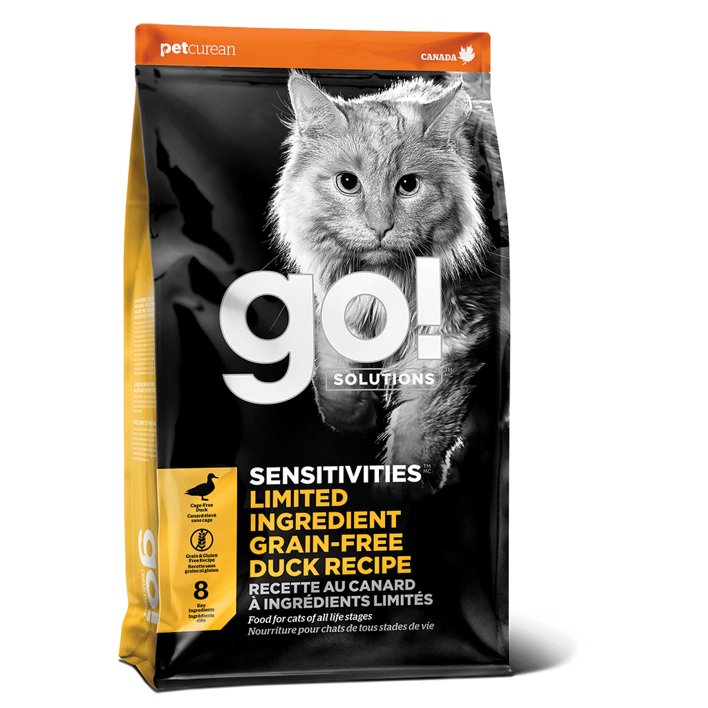 GO! SENSITIVITIES Limited Ingredient Grain Free Duck Pâté for cats  Dry Cat Food - PetMax