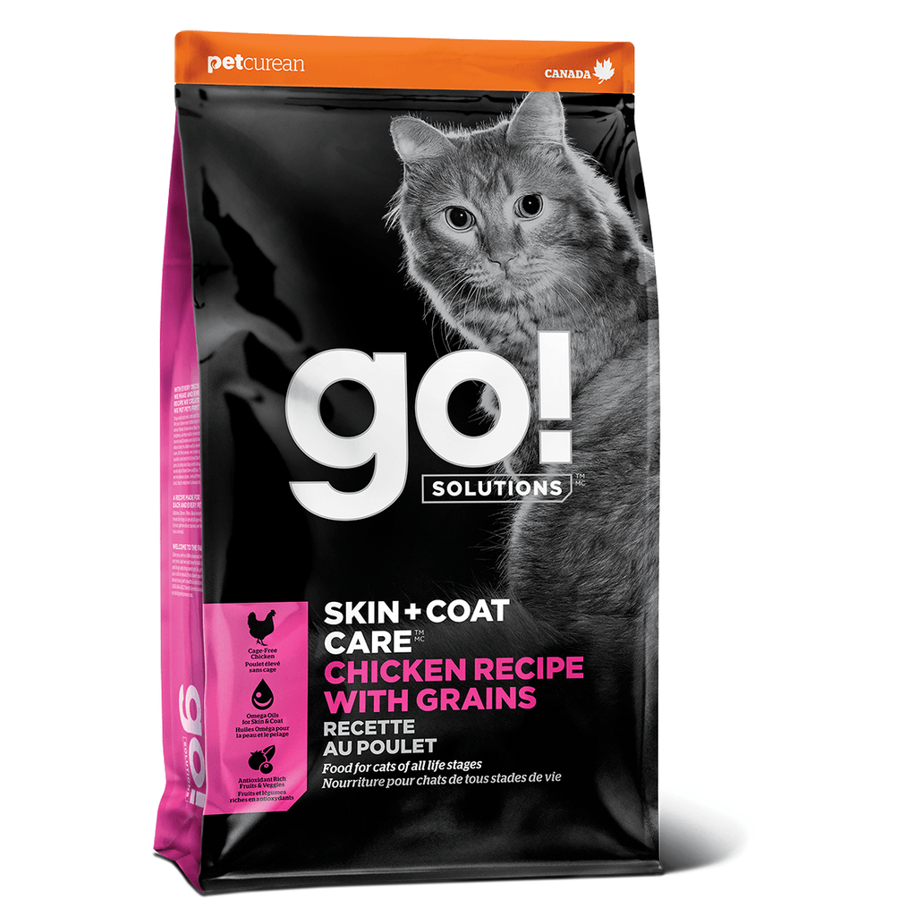 GO! SKIN + COAT CARE Chicken Recipe for cats  Dry Cat Food - PetMax
