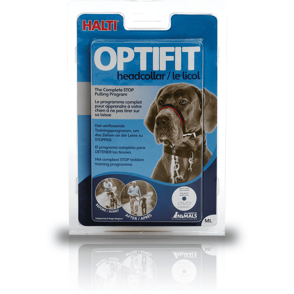 Halti Optifit Headcollar Training Products [variant_title] [option1] - PetMax.ca