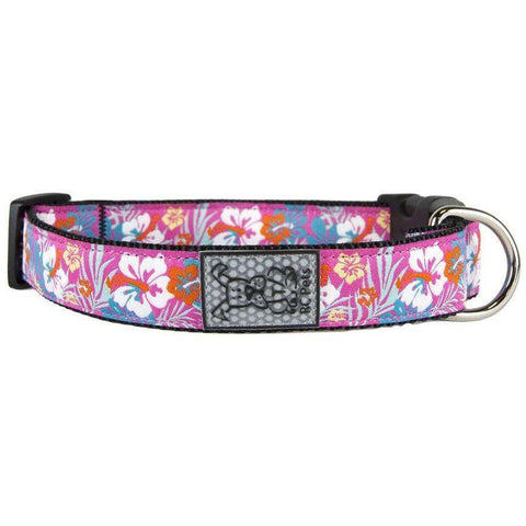 RC Dog Collar Hibiscus, Dog Collars, RC Pet Products - PetMax Canada