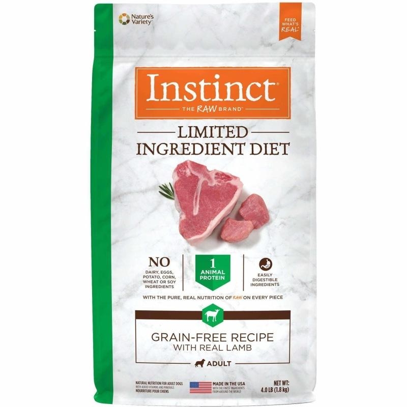 Nature's Variety Instinct Grain Free L.I.D. Lamb | Dog Food -  pet-max.myshopify.com