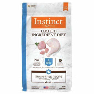 Instinct Dog Food Limited Ingredient Diet Turkey  Dog Food - PetMax