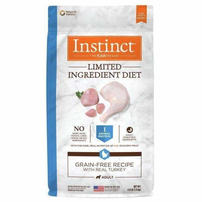 Nature's Variety Instinct L.I.D. Turkey | Dog Food -  pet-max.myshopify.com
