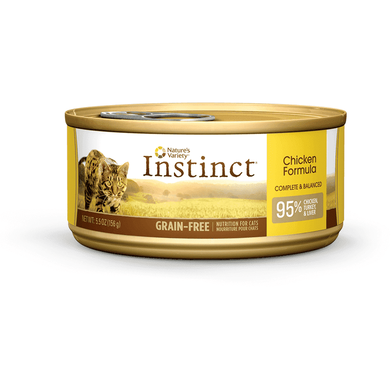 Nature's Variety Canned Cat Food Instinct Grain Free Chicken | Canned Cat Food -  pet-max.myshopify.com