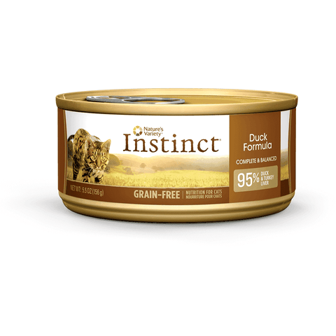 Nature's Variety Canned Cat Food Instinct Grain Free Duck
