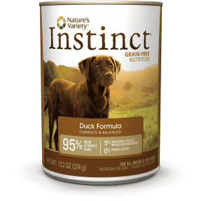 Nature's Variety Canned Dog Food Instinct Grain Free Duck, Canned Dog Food, Natures Variety - PetMax