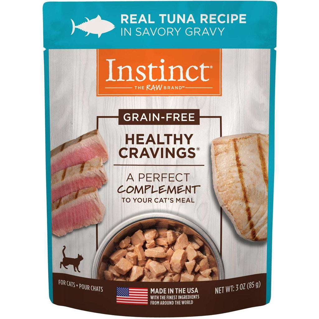 Instinct Wet Cat Food Healthy Cravings Pouches Tender Tuna  Canned Cat Food - PetMax
