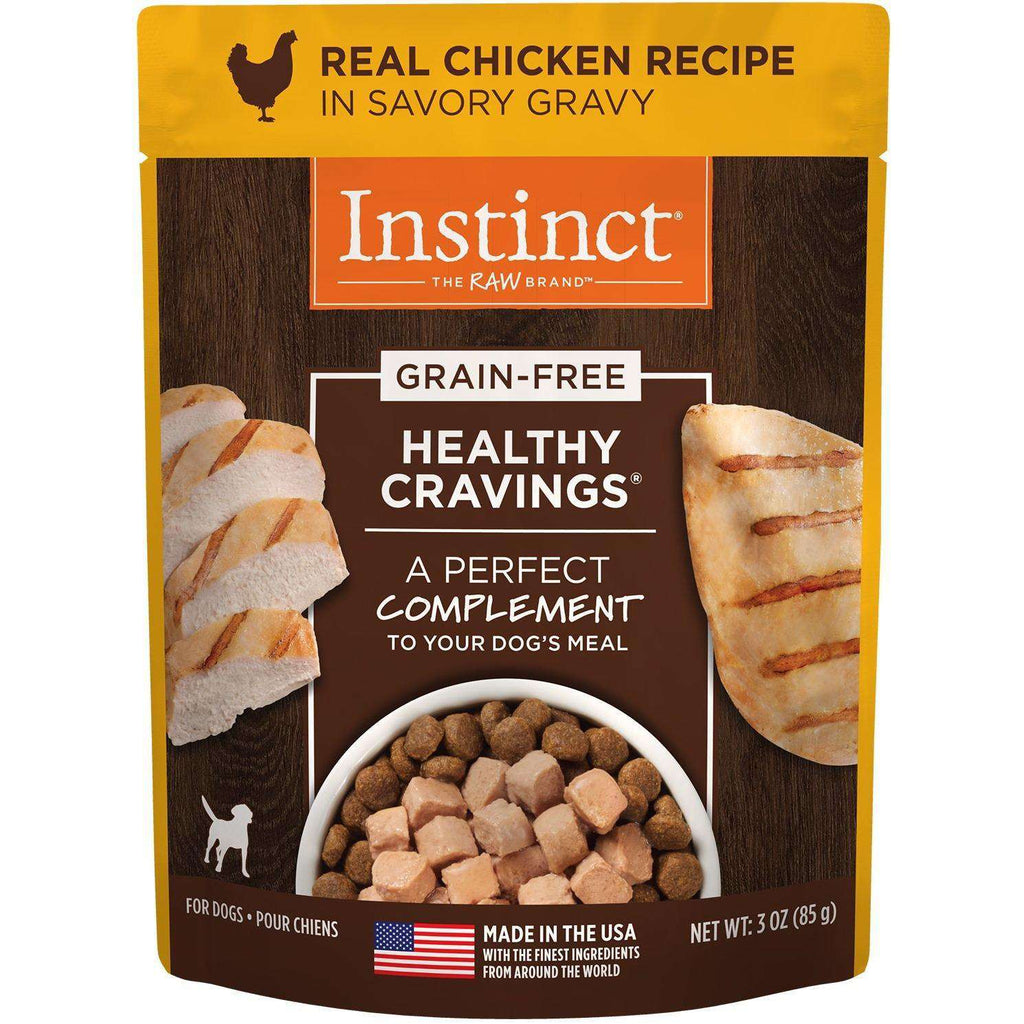 Nature's Variety Instinct Healthy Cravings Pouches Tender Chicken | Canned Dog Food -  pet-max.myshopify.com