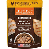 Instinct Wet Dog Food Healthy Cravings Pouches Tender Chicken  Canned Dog Food - PetMax
