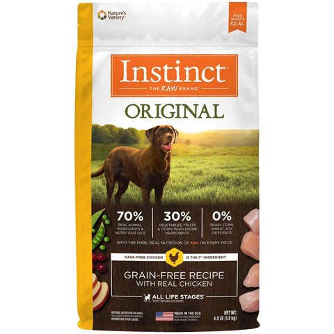 Nature's Variety Instinct Grain Free Chicken, Dog Food, Natures Variety - PetMax Canada