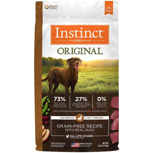 Nature's Variety Instinct Grain Free Duck, Dog Food, Natures Variety - PetMax Canada
