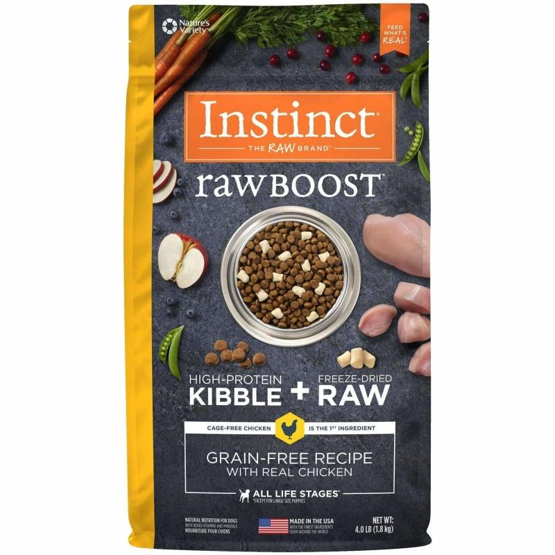 Nature's Variety Instinct Raw Boost Chicken  Dog Food - PetMax