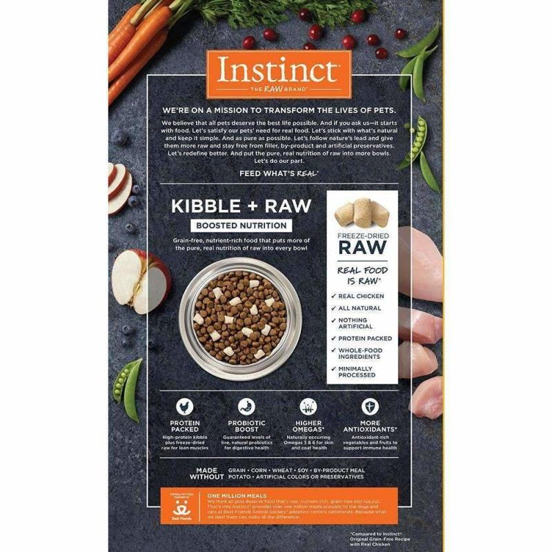 Nature's Variety Instinct Raw Boost Chicken | Dog Food -  pet-max.myshopify.com
