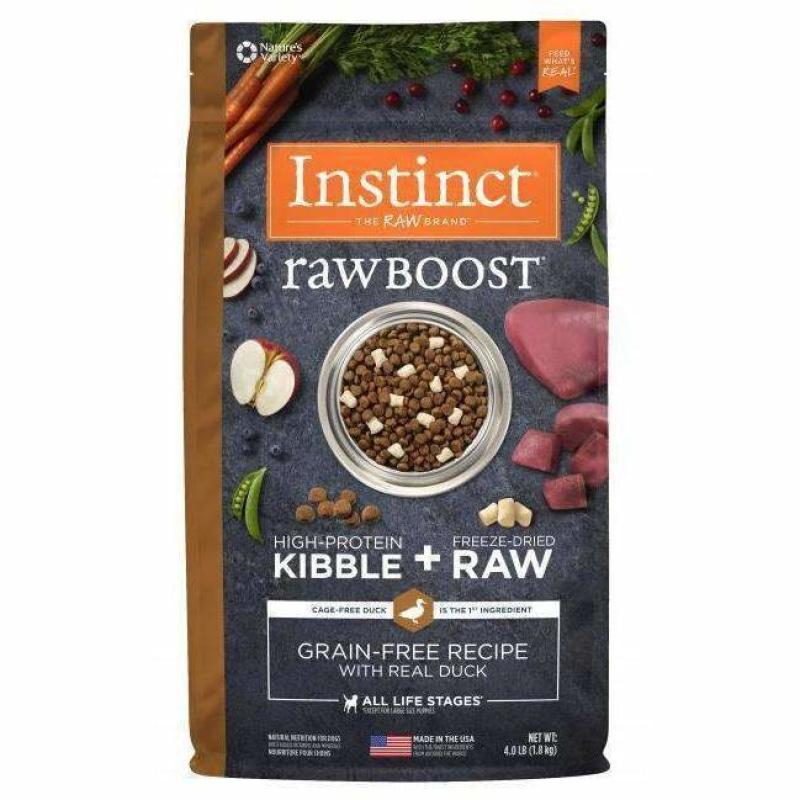 Nature's Variety Instinct Raw Boost Duck | Dog Food -  pet-max.myshopify.com