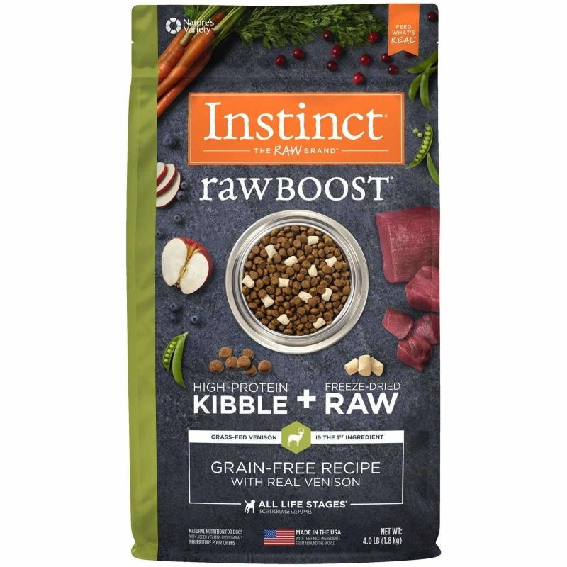 Nature's Variety Instinct Raw Boost Venison  Dog Food - PetMax
