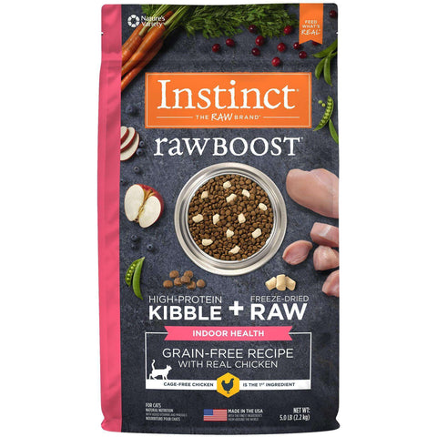 Nature's Variety Cat Instinct Raw Boost Indoor Chicken, Dry Cat Food, Nature's Variety - PetMax Canada