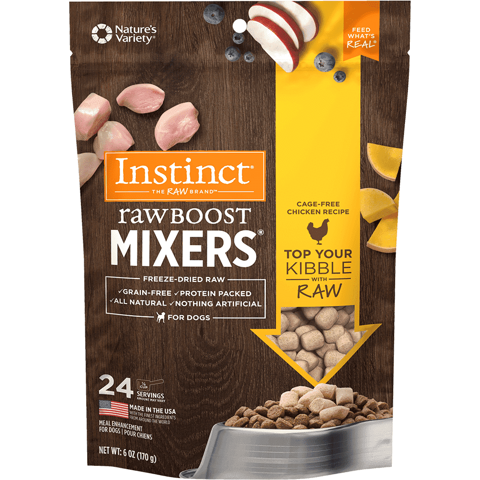 Nature's Variety Instinct Raw Boost Mixers Chicken  Dog Food - PetMax