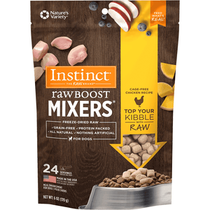 Instinct Raw Boost Freeze Dried Mixers Chicken  Dog Food - PetMax