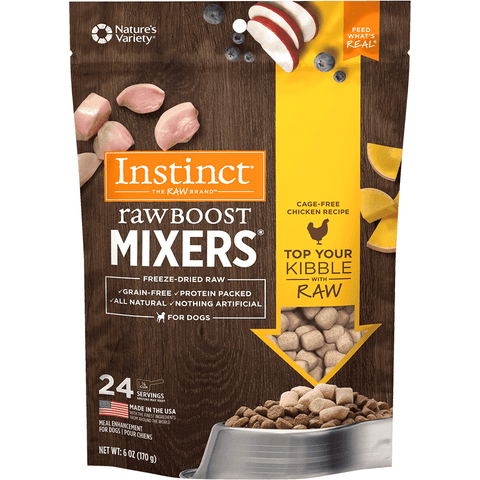 Nature's Variety Instinct Raw Boost Mixers Chicken, Dog Food, Natures Variety - PetMax Canada