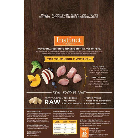 Nature's Variety Instinct Raw Boost Mixers Chicken, Dog Food, Natures Variety - PetMax