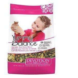 Devotion Yummy Balance Hamster & Gerbil Blend, Small Animal Food Dry, Armstrong Milling - PetMax