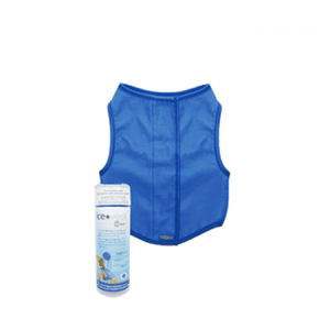 Go Fresh Pet Cooling Ice Vest Blue  Outdoor Gear - PetMax