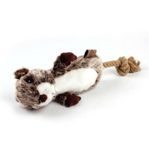 All For Paws Classic Justin Beaver Dog Toy, Dog Toys, Rolf C. Hagen - PetMax Canada