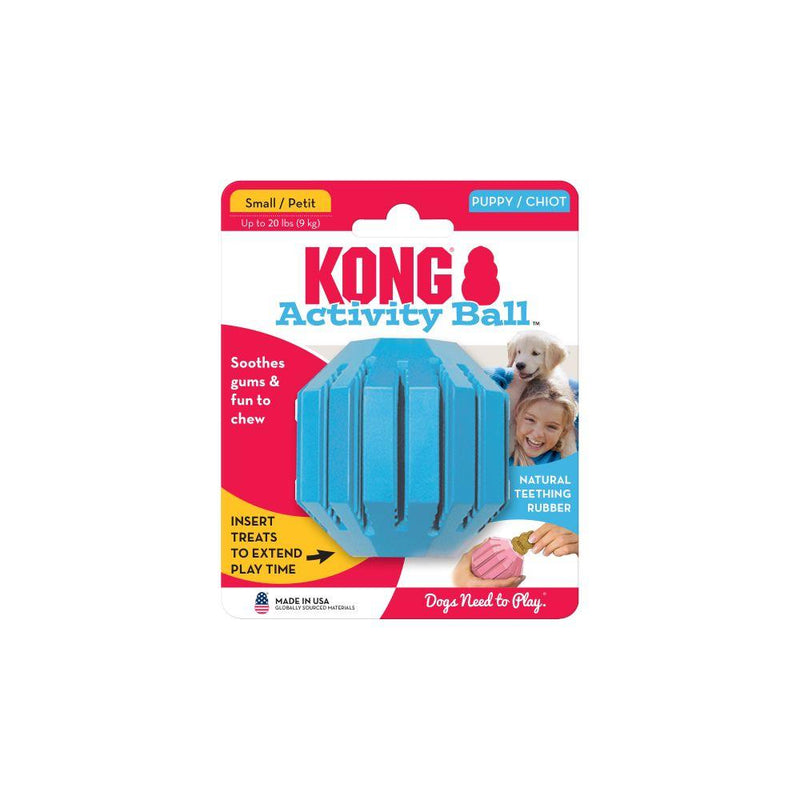 Kong Puppy Activity Ball  Dog Toys - PetMax