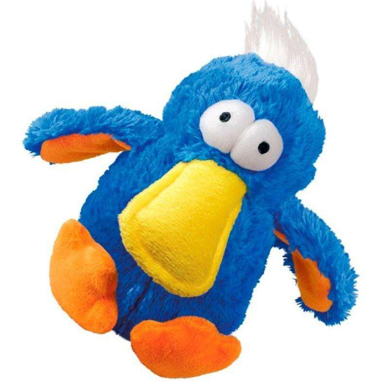 Kong Cozie Dog Toy DoDo Bird Blue Dog Toys - PetMax