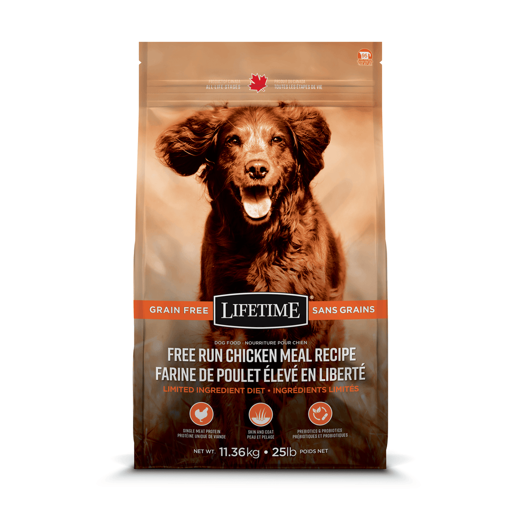 Lifetime Dog Grain Free Free-Run Chicken  Dog Food - PetMax