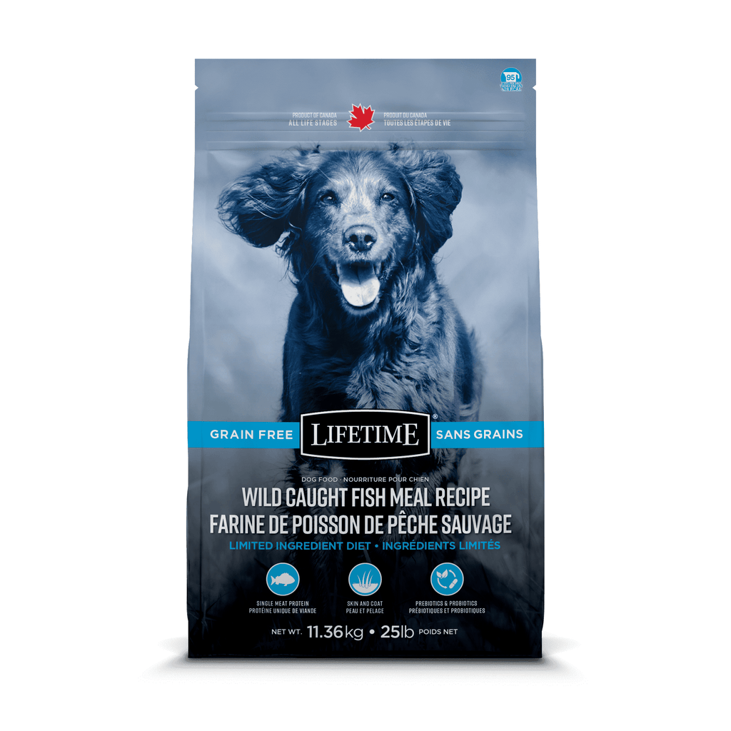 Lifetime Dog Food Grain Free Wild Caught Fish  Dog Food - PetMax