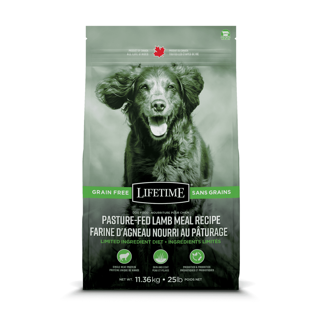 Lifetime Dog Food Grain Free Pasture Fed Lamb  Dog Food - PetMax