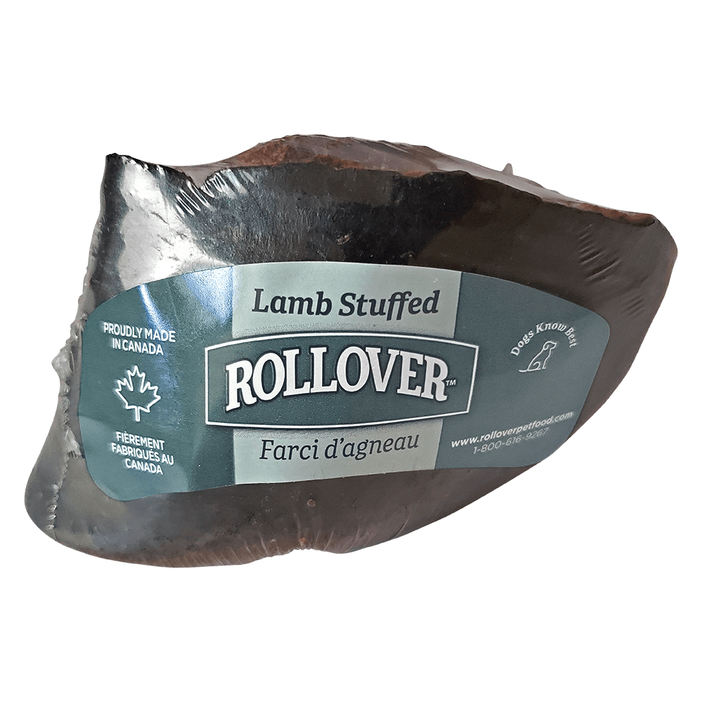 Rollover Stuffed Hoof Lamb  Chew Products - PetMax