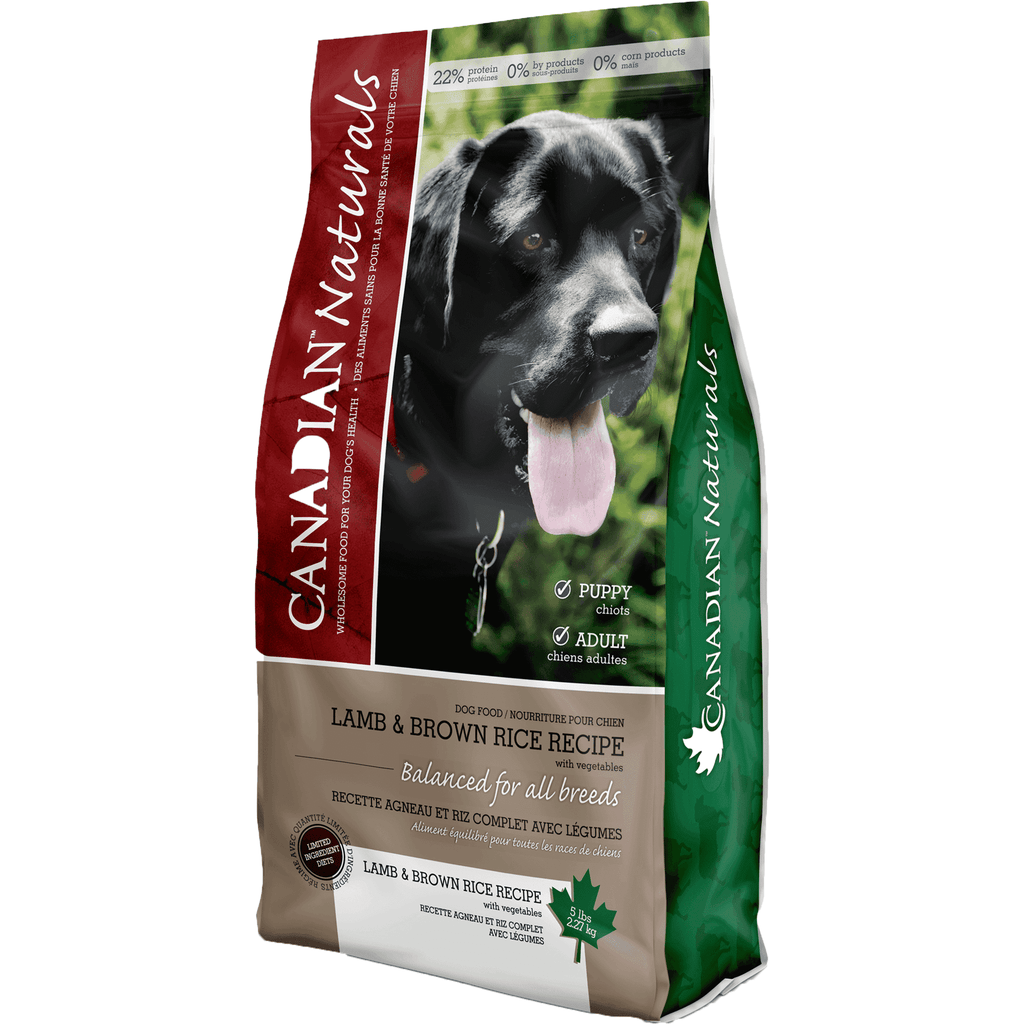 Canadian Naturals Lamb & Brown Rice  Dog Food - PetMax