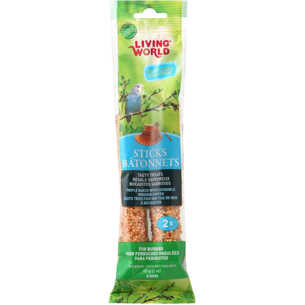Living World Parakeet Honey Stick | Bird Treats -  pet-max.myshopify.com