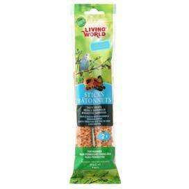 Living World Parakeet Fruit Stick, Bird Treats, Rolf C Hagen Inc. - PetMax