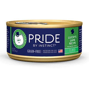 Instinct Pride Cat Can Grain Free Lucky's Lamb, Canned Cat Food, Nature's Variety - PetMax