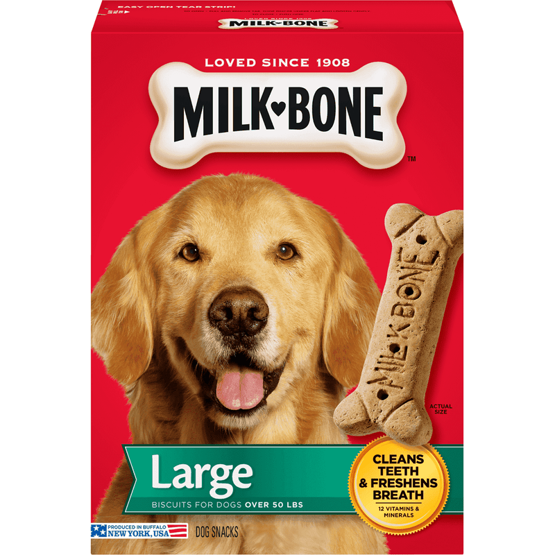 Milkbone Large Biscuits  Dog Treats - PetMax