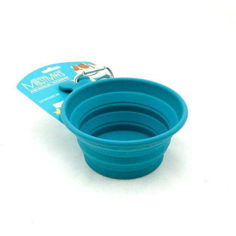 Messy Mutts Silicone Collapsible Bowl, Dog Dishes, Messy Mutt - PetMax