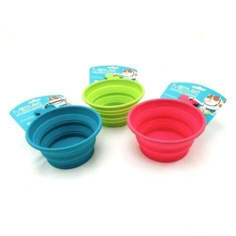 Messy Mutts Silicone Collapsible Bowl, Dog Dishes, Messy Mutt - PetMax Canada