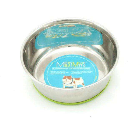Messy Mutts Stainless Steel Bowl, Dog Dishes, Messy Mutt - PetMax