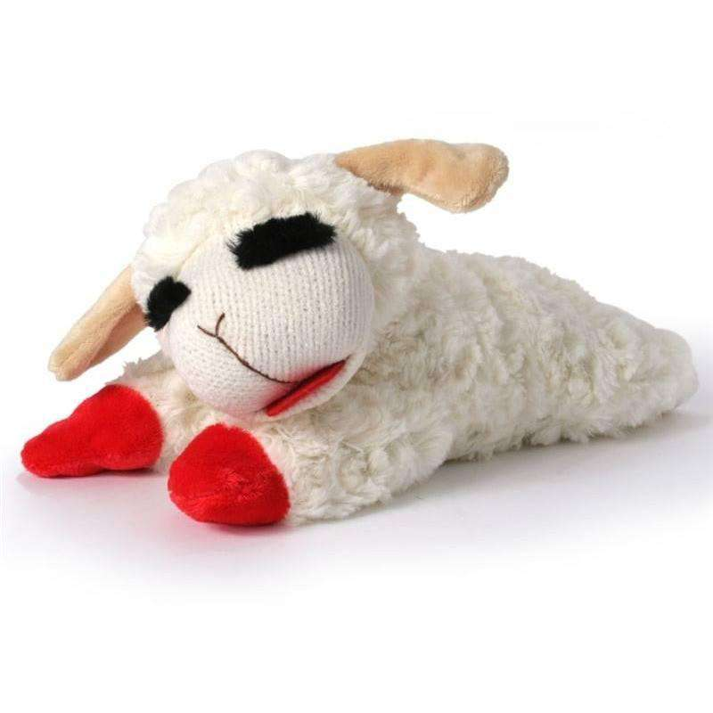 Lamb Chop Plush Dog Toy  Dog Toys - PetMax